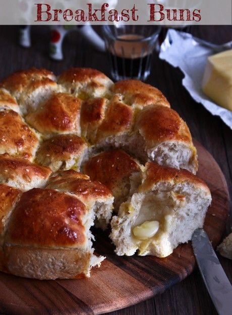 Savoury Breakfast BunsAn Original Recipe