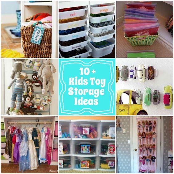 #10 DIY: Playroom toy storage Ideas