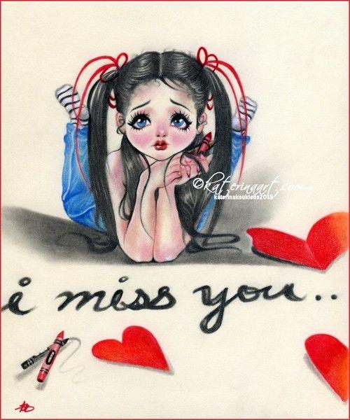 """I Miss You"" by Katerina Koukiotis"