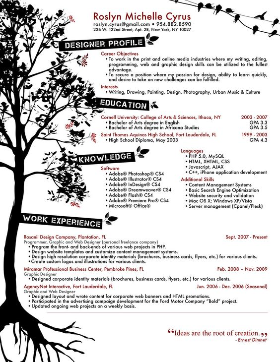resume design resume and graphic design resume on