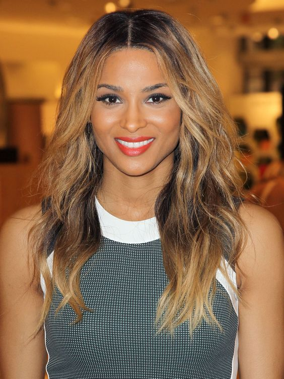 Terrific Relaxed Hair Hairstyles For Relaxed Hair And 1 Inch Curling Iron Hairstyle Inspiration Daily Dogsangcom