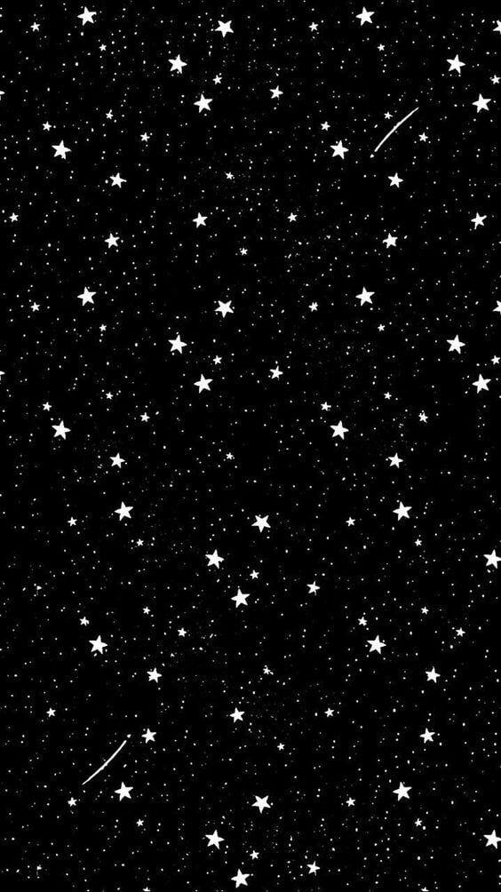 Imagem De Stars Wallpaper And Black Wallpaper Space Iphone