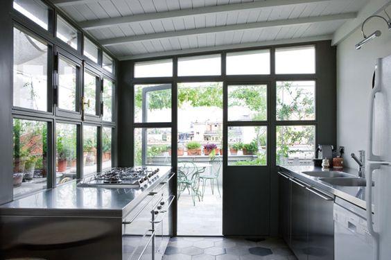 cucina in veranda - Cerca con Google | Veranda | Pinterest | Verandas