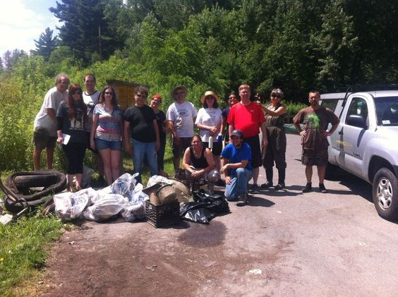 One of our 2014 cleanups