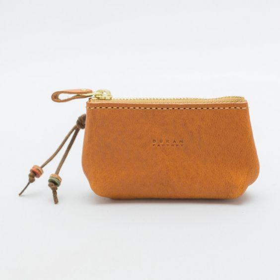 革の質感を活かしたキーケース | 革小物のDuram Online Shop