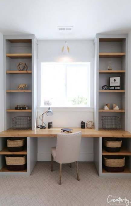 21 Ideas Home Office Desk Ideas Diy Window Home Office Layouts Home Office Decor Home Office Design