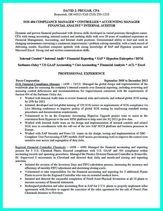 Compliance Officer Resume Sample Resume help and Job resume - compliance resume