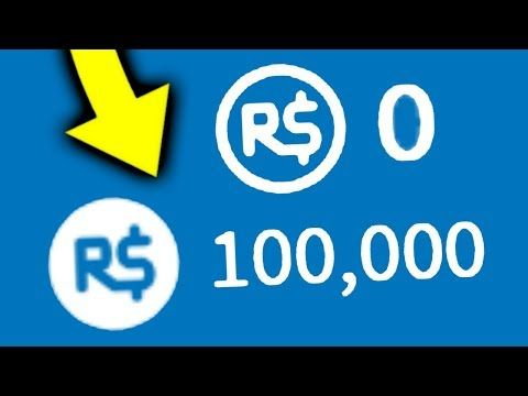How To Turn 0 Robux Into 100000 On Roblox Youtube - how much robux is 100
