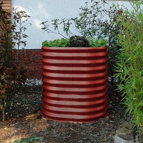 Vitavia Gewachshauser Rund Hochbeet Wayfair De Rund Hochbeet Vitavia Gewachshauser Farbe Rubin Vitavia Gewachs Urban Garden Diy Outdoor Planter Pots