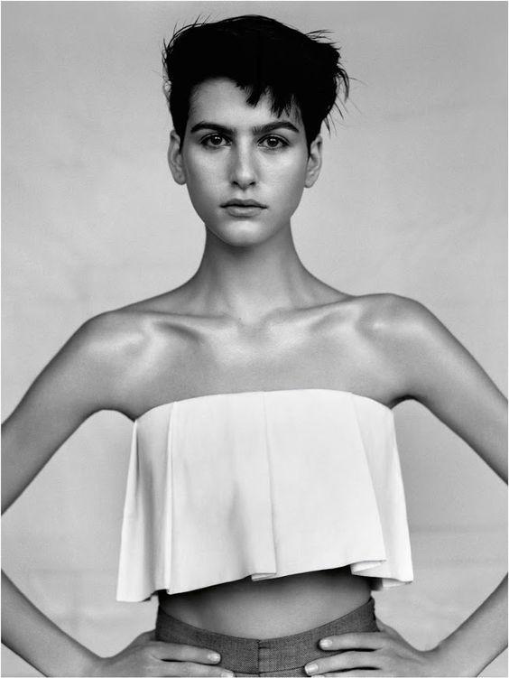 Athena Wilson by Alasdair McLellan for Vogue UK April 2013.