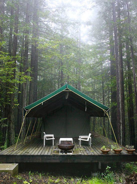 Photographer mark seelen camp pinterest for Permanent tent cabins