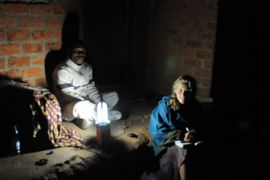 Solar lighting at a remote child service site in Malawi, Africa.  With love from Morristown Rotary Club, NJ & Mission of Hope. Rotary International, a worldwide community of volunteers.
