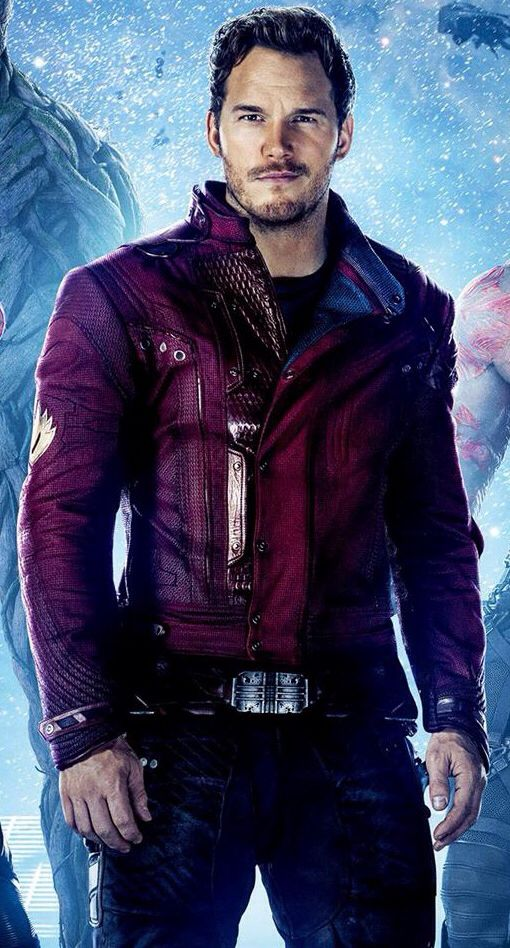 Chris pratt, Peter quill and Of the galaxy on Pinterest