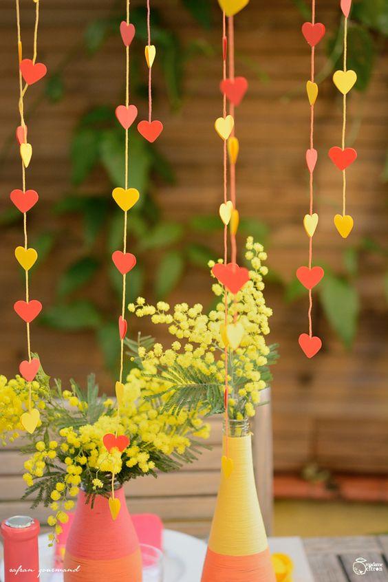diy guirlande coeur saint valentin guirlande amy guirlande coeur ...