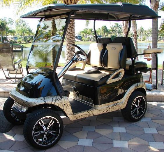 Club Car 2009+ Precedent Golf Cart Custom Two Toned Suite / Bucket Seats…
