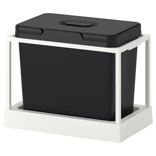 Variera Pot Lid Organizer Stainless Steel Ikea Recycling Bins Kitchen Bin