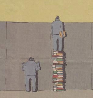 those who read have less difficulty in seeing the world