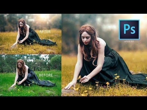Photoshop Cc Tutorial How To Edit Outdoor Photo How To Retouch Outdoor Photo Youtube Photoreto Photo Editing Photoshop Photoshop Pics Retouching Tutorial