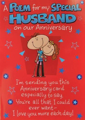 Printable Anniversary Cards For Husband   colbro.co