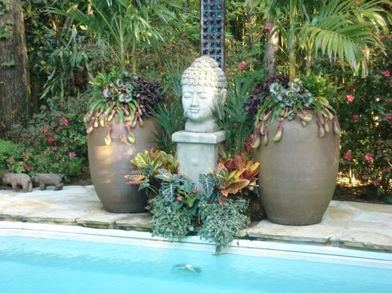 Garden Buddha Decor and Accessory Botanica Gardens Little Rock, AR