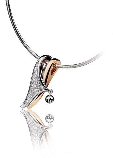 Great contemporary Breuning necklace now available at Keswick Jewelers in Arlington Heights, IL, www.keswickjewelers.com
