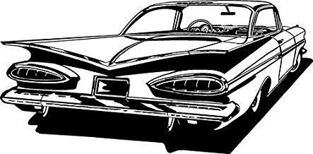 Car Wall Decals Stickers Man Cave Boys Room Decor Hot Rod Racing