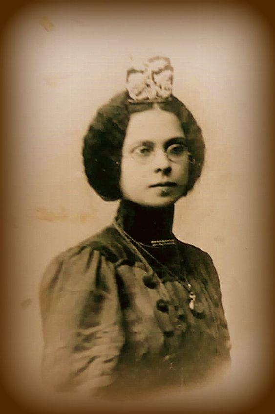 Tatars. Девушка Татарка 1915 год.