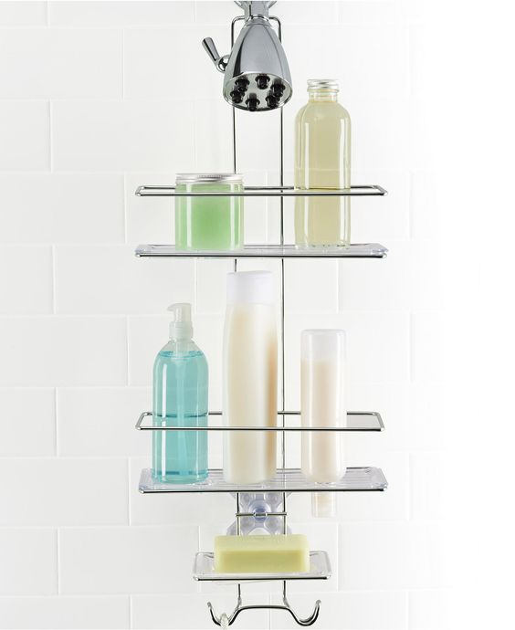 OXO Bath Accessories, 3 Tier Shower Caddy - Bathroom Accessories - Bed & Bath - Macy's