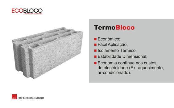 NOVIDADE  TermoBloco -- NEW TermoBloco  #acl #aclouro #acimenteiradolouro #betao #concrete #design #construçao #construction #arquitectura #architecture #architektur