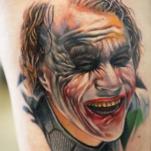 Fantastis 29 Gambar Tato Joker 3d Unik Tato Temporer Stiker Lengan Tengkorak Floral Pola Tubuh Batman Tattoo Unique Tattoos Joker Tattoo