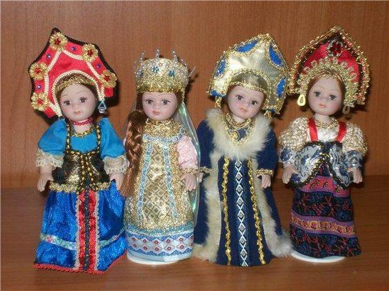 6.8 Собираем русский народный костюм для куклы