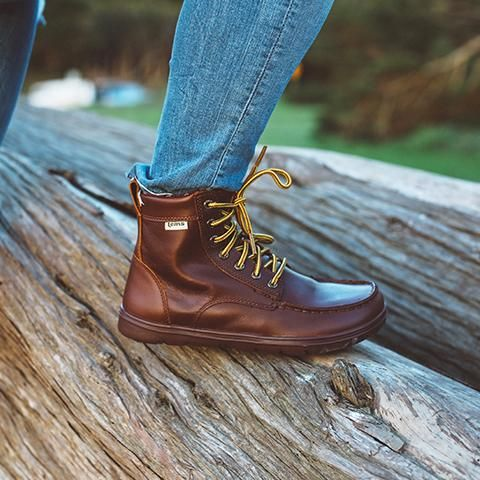Women S Boulder Boot Leather Boots Hiking Boots Women Minimalist Shoes