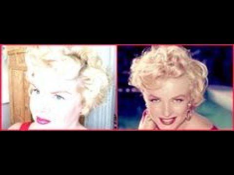 How I Style My Hair Like Marilyn Monroe Tutorial Youtube Marilyn Monroe Hair Hair Tutorial Hair