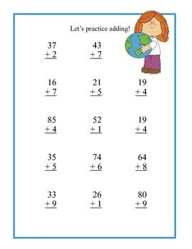 2-digit Subtraction: Use Base-10 Blocks (No Regrouping) Practice ...