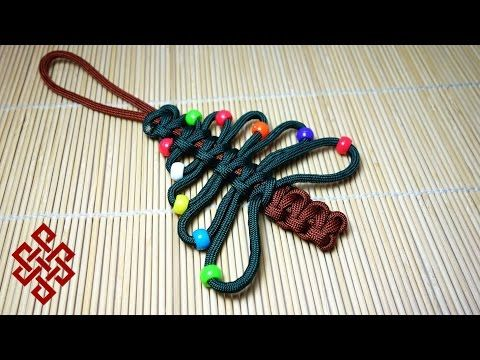 How to Make a Handmade Christmas Ornament using Paracord - BoredParacord - YouTube