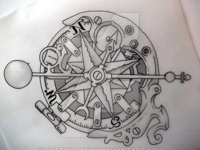 pocket compass tattoo designs - Google Search | Tattoo ...