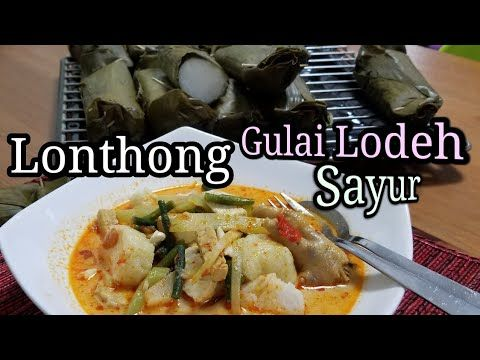 Membuat Lonthong Dan Gulai Sayur Ceker Ayam Resep Lengkap Youtube Memasak Gulai Resep