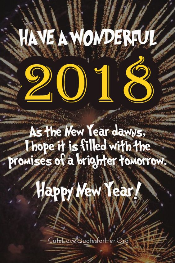 happy new year 2018 quotes image description happy new years 2018 greeting cards