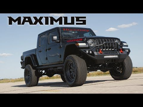 Hennessey S Latest Jeep Is A 1000 Horse Gladiator Jeep Gladiator