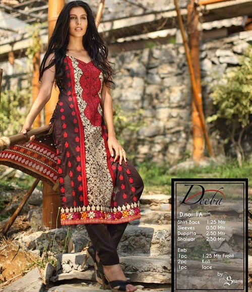 Deeba Summer Lawn Collection 2015 DS-1A