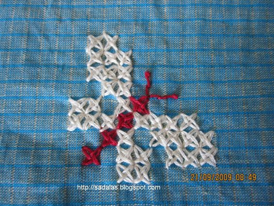 what is stump stitch embroidery - Google Search