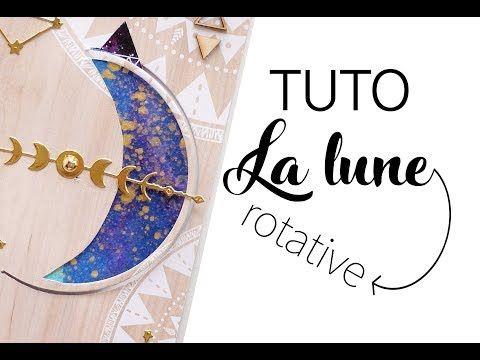 Tuto La Lune Rotative Youtube En 2020 Tuto Lune Carte