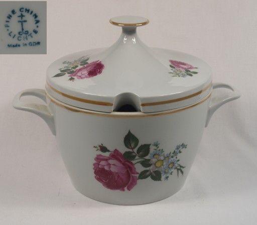 Waza Na Zupe Z Piwoniami 7080886111 Oficjalne Archiwum Allegro Sugar Bowl Set Bowl Set Tea Pots