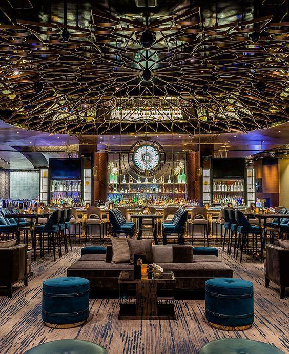 Aria Resort Casino Las Vegas Casinos Interior Design Best Casino Contract Furniture Hospitality Furn Bar Design Restaurant Restaurant Lounge Bar Design