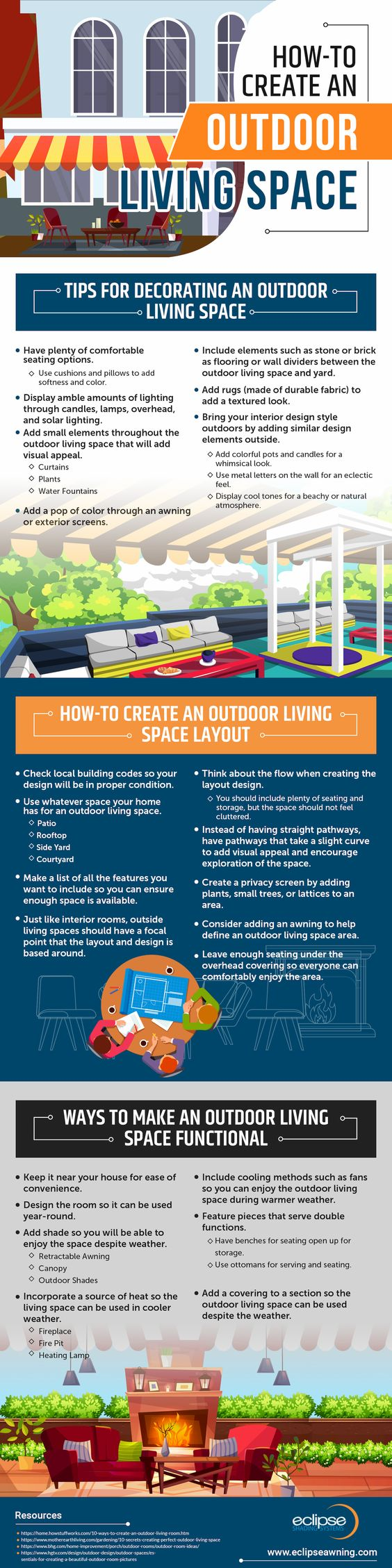 How To Create An Outdoor Living Space With Images Outdoor