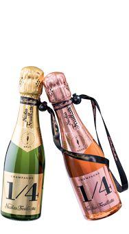 Champagne Nicolas Feuillatte One Fo(u)r Brut & Rosé