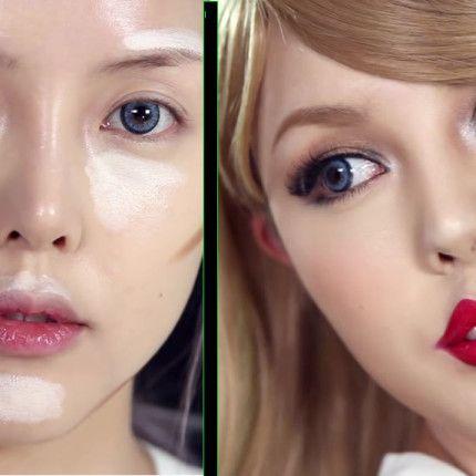 Extreme contouring: coreana si trasforma in Taylor Swift
