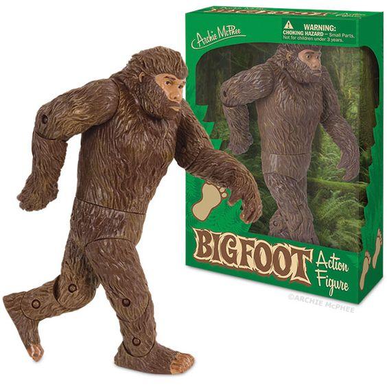 Bigfoot Action Figure   Bigfoot Action Figure - Archie McPhee & Co.