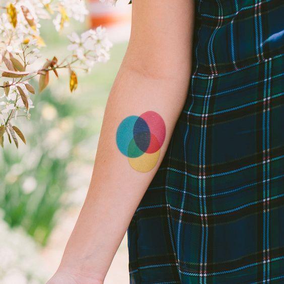 Tattoo Ideas Forever: White light chromatic circle (RGB), to ...