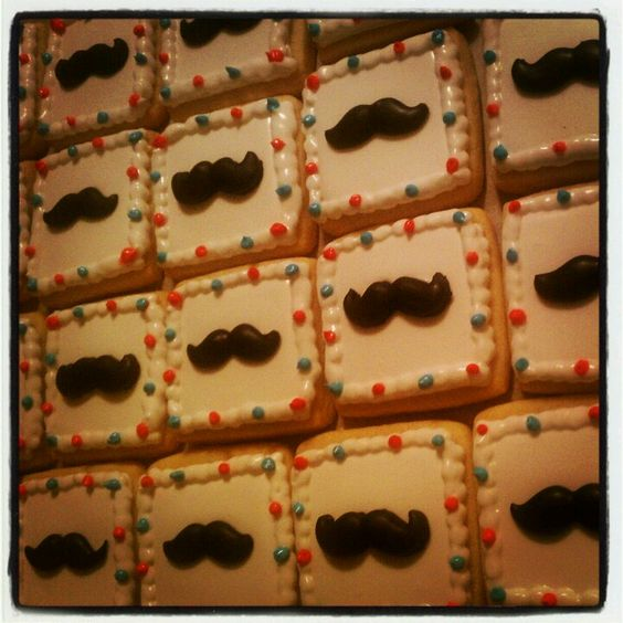 Mustash Cookies TheHotPinkBox